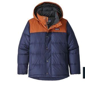 Patagonia, little boys down winter coat